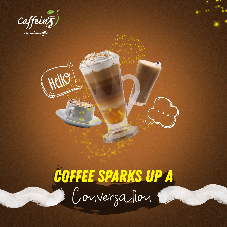 Caffein cafe branding & social media management